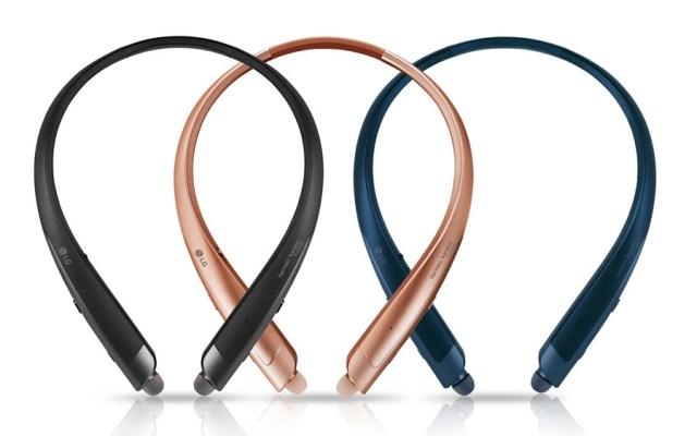 LG TONE Platinum SE, audífonos inalámbricos con el Asistente de Google