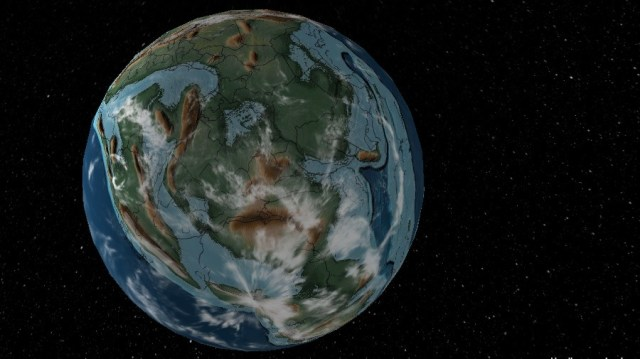 Mira cómo era la Tierra cuando vivían los dinosaurios