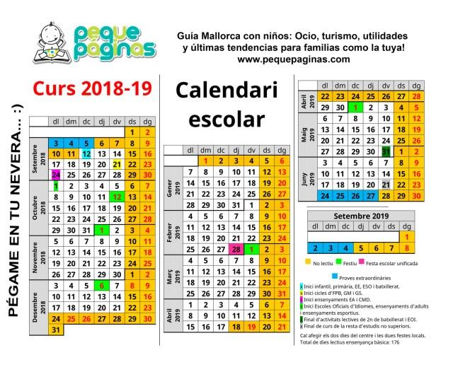 calendario baleares