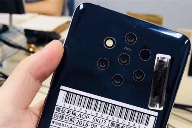 5 cámaras y un flash, se filtran imágenes de lo nuevo de Nokia℗