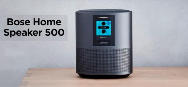 Bose Home Speaker 500, altavoz inteligente con sonido estéreo