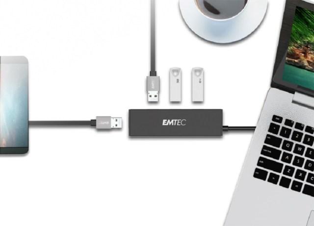 EMTEC T620A y T650C, hubs con varios puertos y transferencia de vídeo 4K