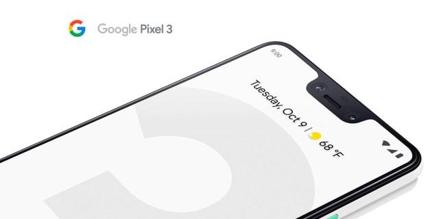 Google Pixel 3XL, doble cámara frontal y una pantalla de 6,7 pulgadas