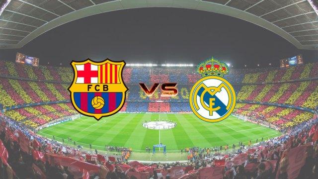 Horarios y dónde visualizar por Internet el F.C. Barcelona - Real Madrid