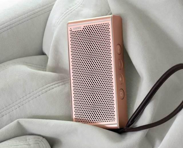el altavoz Loewe Klang M1 ahora está disponible en oro rosa sonido
