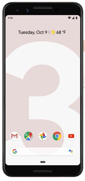 pixel 2 frontal rosa