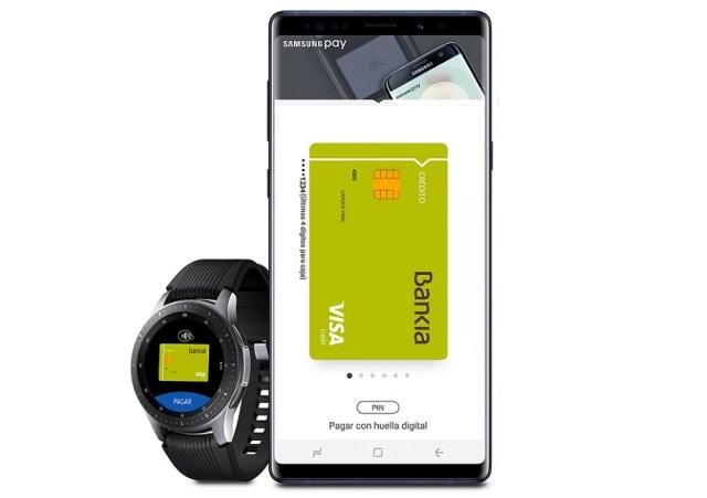 Samsung Pay ya funciona con Bankia, lista de bancos compatibles