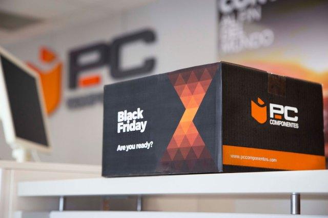 Así se prepara PcComponentes para el Black Friday, el día con más ventas del año