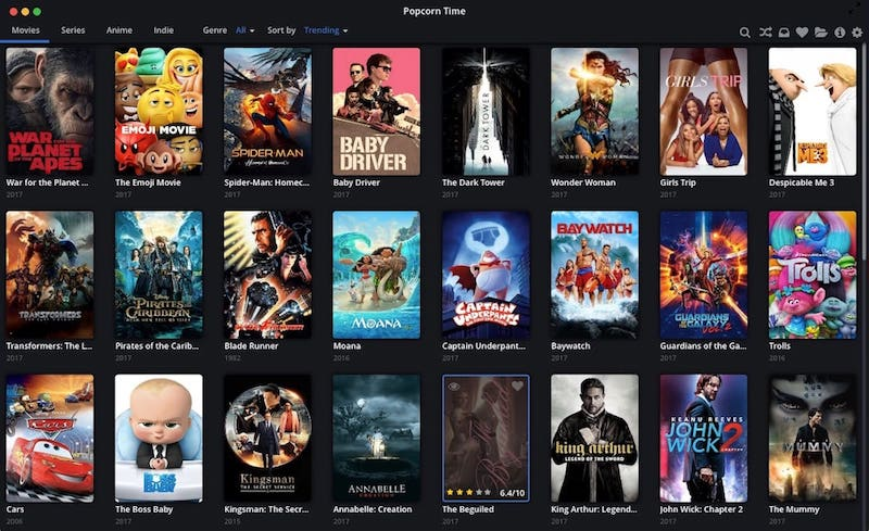 popcorn time alternativa a pelispedia no funciona