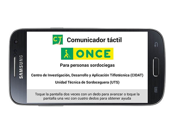 Permalink to Comunicador Táctil Once, una app para comunicarse con personas sordociegas
