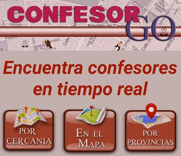confesor go menu