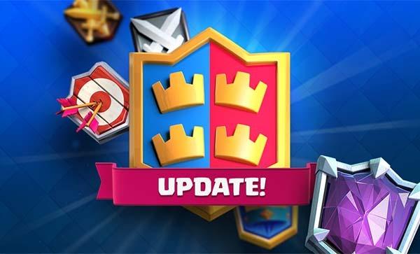 actualización de valores de Clash Royale