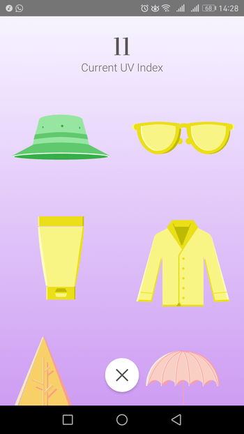 uv index android
