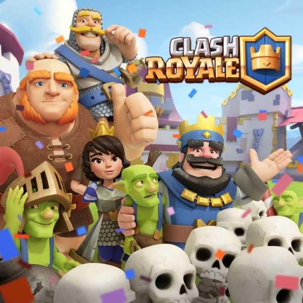 Los superiores mazos para cada arena en Clash Royale