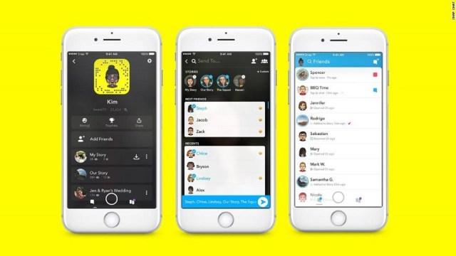 Más consumidores se enlazan a Snapchat