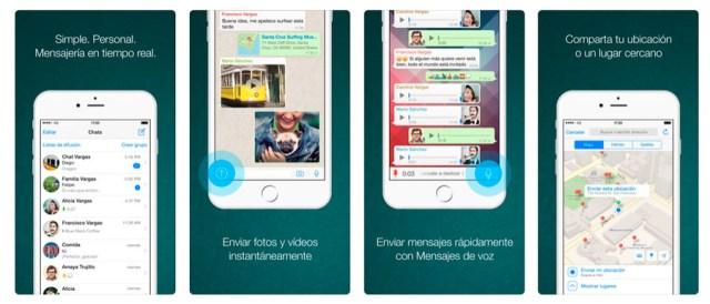 Cómo enviar mensajes privados desde un equipo en ©WhatsApp para iPhone