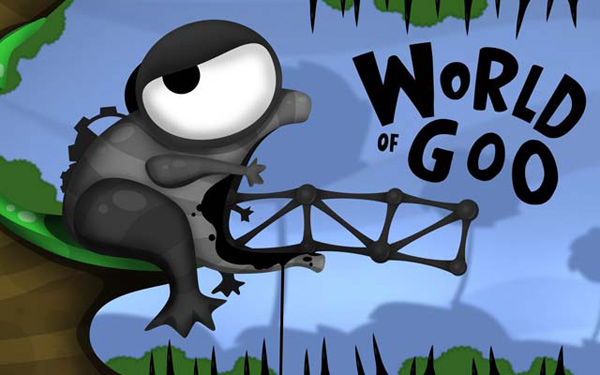 Fisty the frog World of Goo Logo