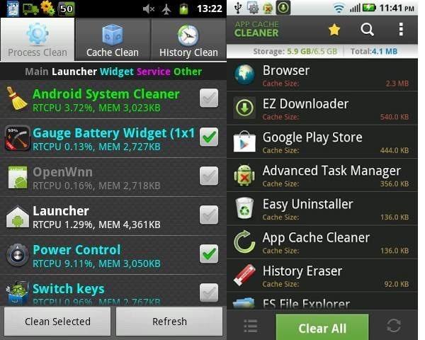 programas limpieza cache android