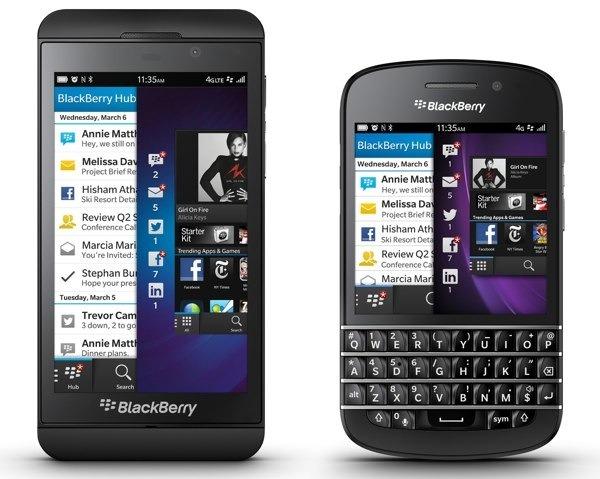 baja demanda blackberry
