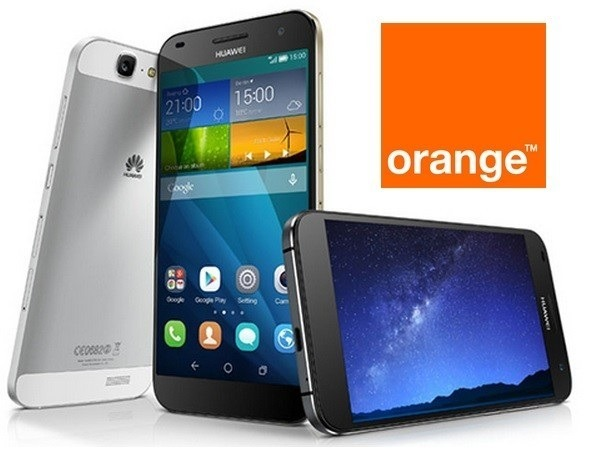 huawei g7 orange