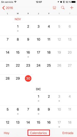 app calendario ios
