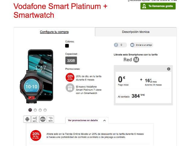 ofertas Vodafone navidad Voda