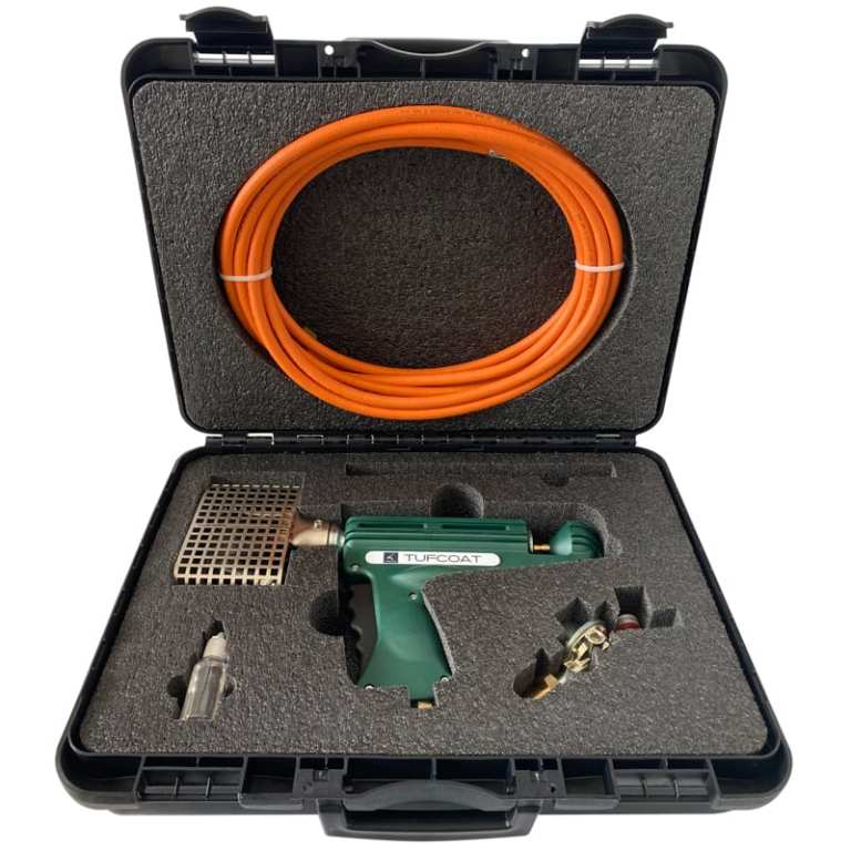 Hard carry case for BC35 Propane Tool with cut outs for additional tools