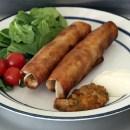 Taquitos med pulled pork och hemlagad salsa. Mat för gudar. (Bild: Tuffa Tider)