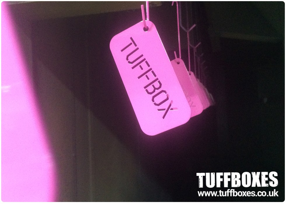 Tuffbox Keyring - Powder Coating Pink