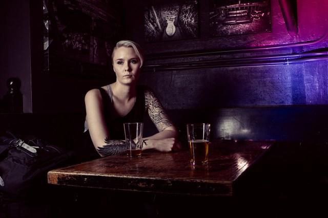 Portrait of Zoe Rain by seattle photographer Tuffer