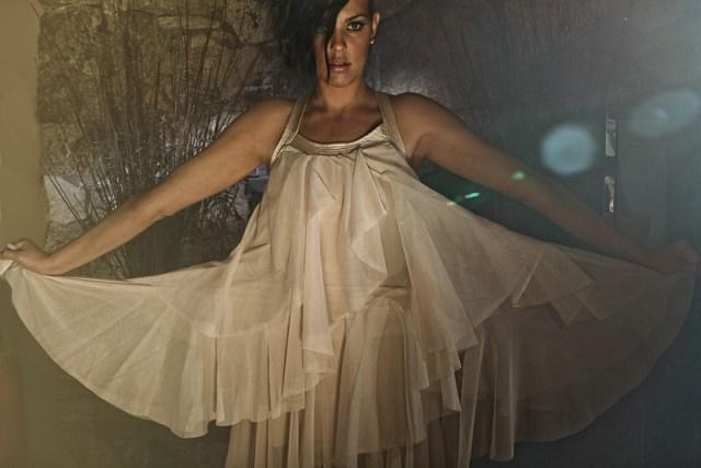 Syreeta in fashion.