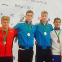 Eurojuniors Bergen 2017 – Il sincro Porco-Cosoli è di bronzo!