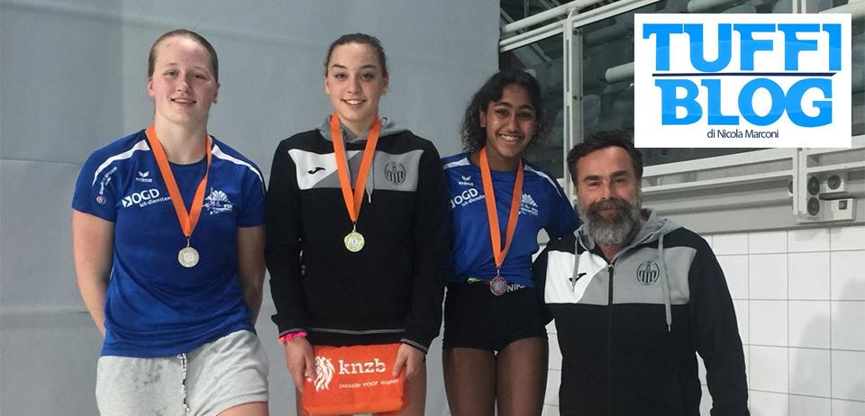 Open Olandesi: tre medaglie per Elisa Pizzini