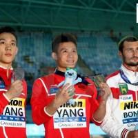 Campionati Mondiali: Gwangju - spettacolo dai cinesi, bronzo Bondar, Daley soltanto settimo