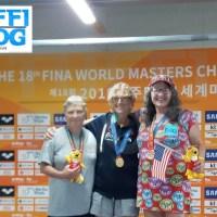 Campionati Mondiali Master: Gwangju - quarta medaglia italiana, oro per Alison Drake! [video]