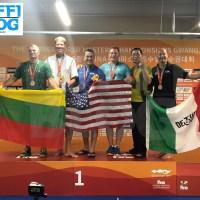 Campionati Mondiali Master: Gwangju - Molon sesto dalla piattaforma [video]