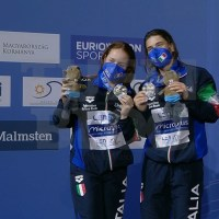 Campionati Europei: Budapest - ancora Bertocchi-Pellacani, ARGENTO a 9 centesimi dall'oro!