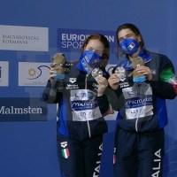Campionati Europei: Budapest - ancora Bertocchi-Pellacani, ARGENTO a 9 centesimi dall'oro!