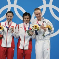 Olimpiadi Tokyo 2020 – finale trampolino, è doppietta cinese, clamoroso bronzo Palmer!