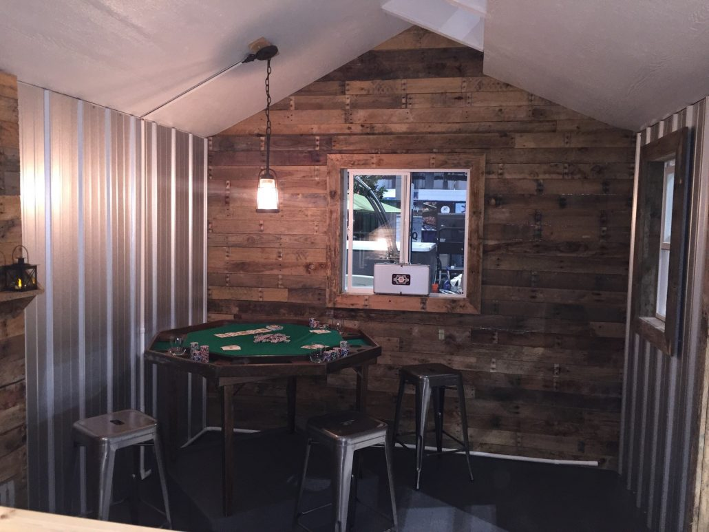 Design a Man Cave Worthy of a Grunt - Tuff Shed on Man Cave Patio Ideas  id=88414