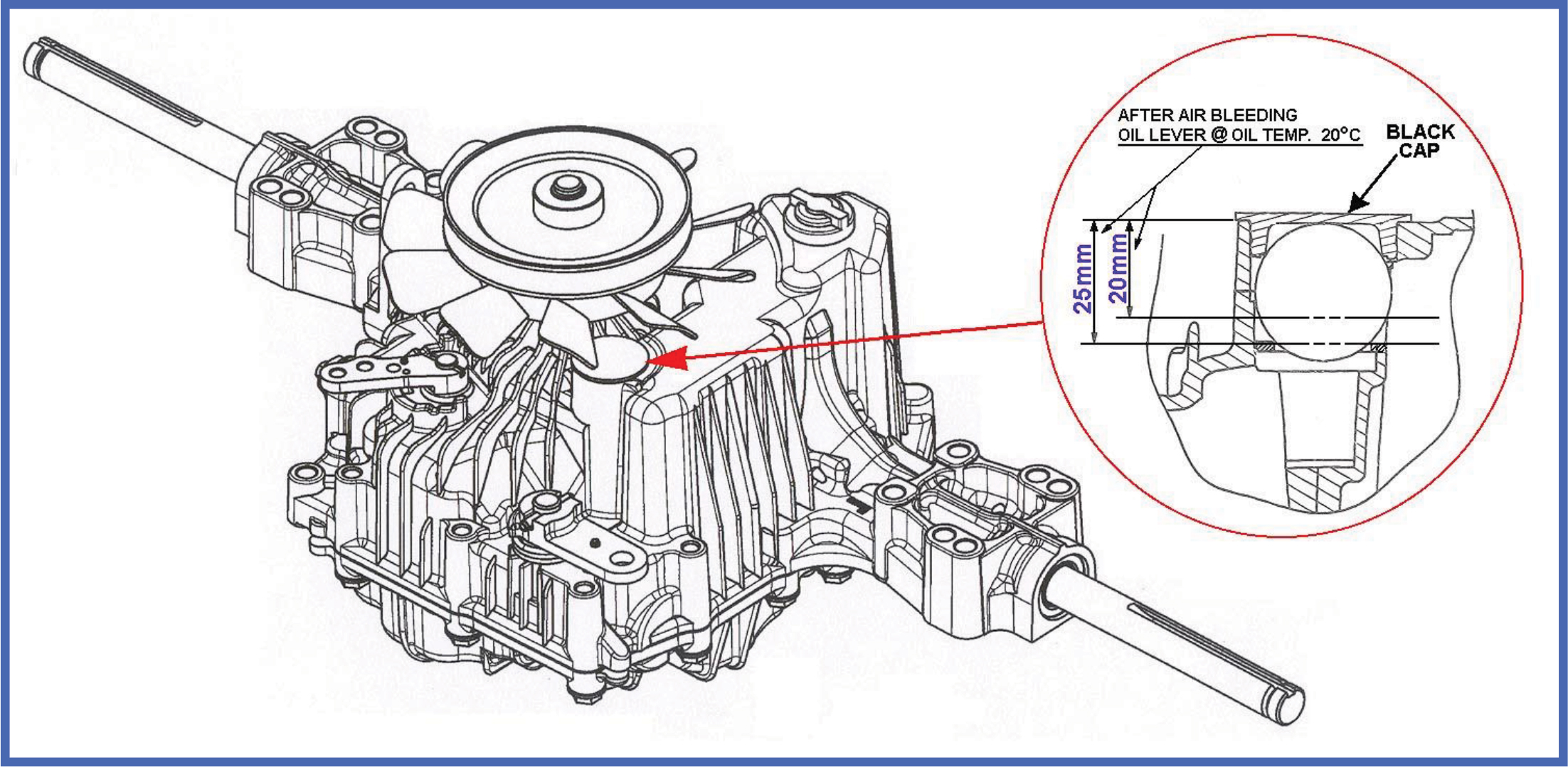 Simplicity Hydrostatic Transmission Fluid
