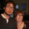 Carmen y su hijo Luis Miguel