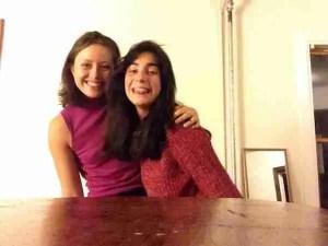 Aquí estoy con Emma Lanier, estudiante de T&S Spain en 2014-15.