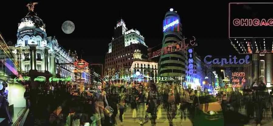 La noche madrileña