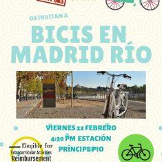 Bicis Madrid Río