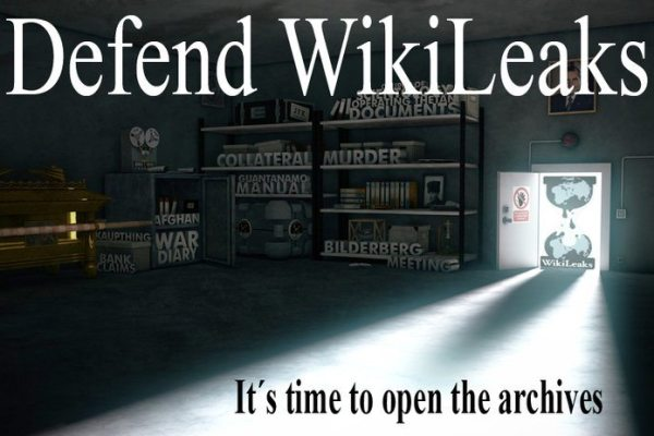 Sites de Apoio ao Wikileaks