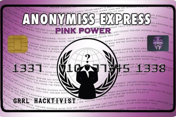 Operation: Anonymiss Express - #OpPinkPower