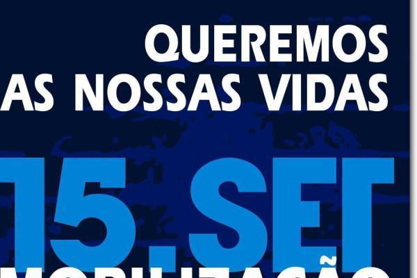 Manifestação de 15 de Setembro une Portugal contra a Troika