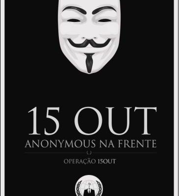 Mensagem dos Anonymous Portugal: 15 de Outubro