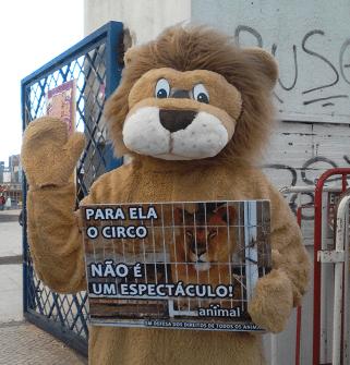 O circo acabou mas os animais vão voltar, enjaulados em nome do espetáculo